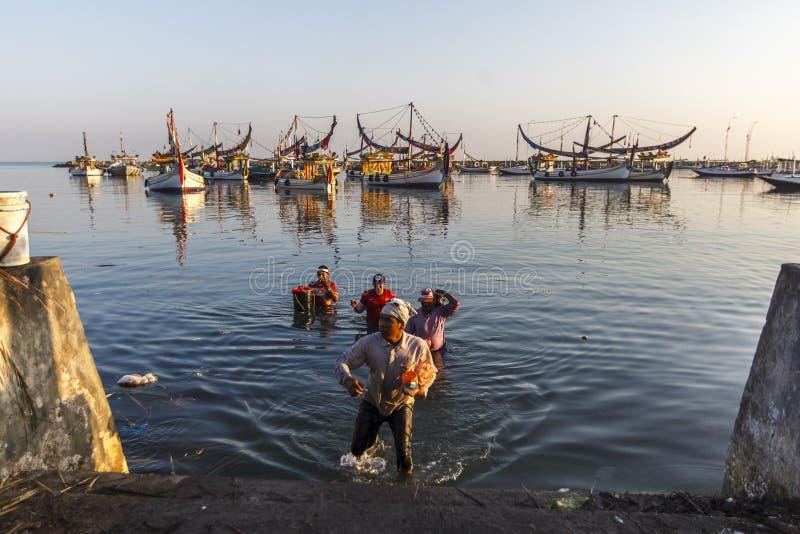 DE MARITIEME ECONOMIE VAN INDONESIË stock foto's