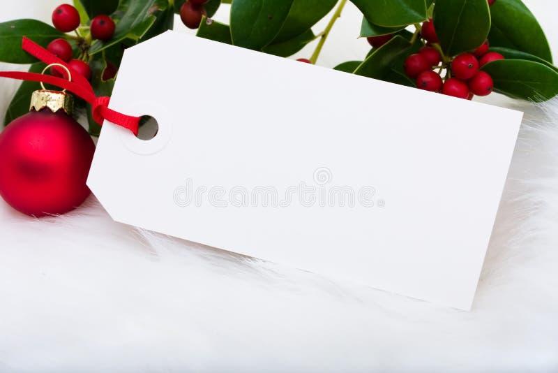 De markering van de gift royalty-vrije stock foto's