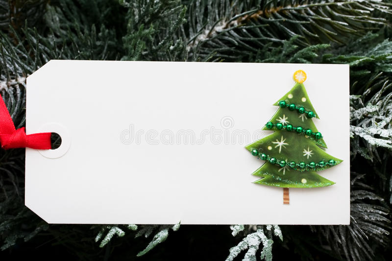 De markering van de gift royalty-vrije stock foto