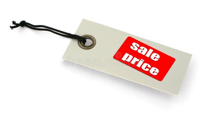 De markering van de verkoop stock afbeelding