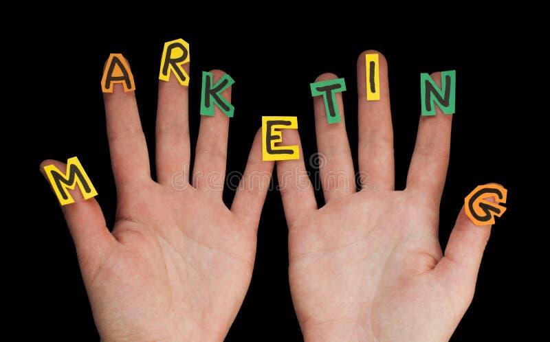 De Marketing van Word royalty-vrije stock fotografie