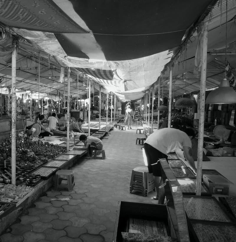 de markt van bagatibet royalty-vrije stock foto