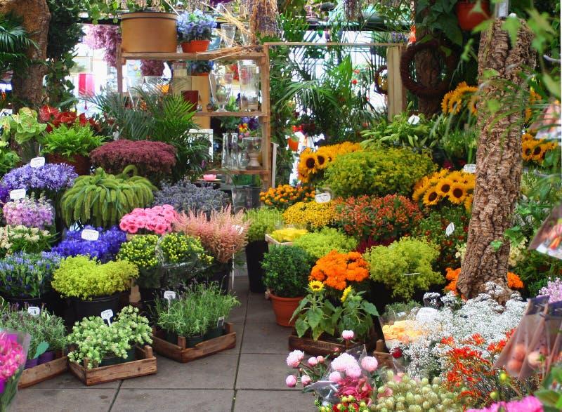 De markt van de bloem