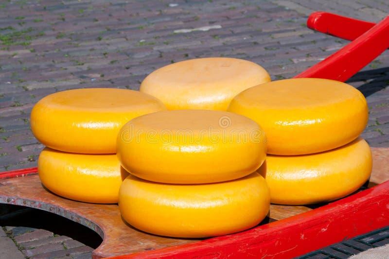 De markt van de kaas royalty-vrije stock afbeelding