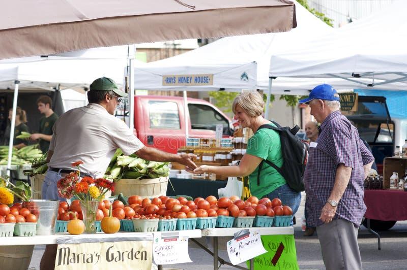 De Markt van de kleine Landbouwers van de Stad royalty-vrije stock foto's