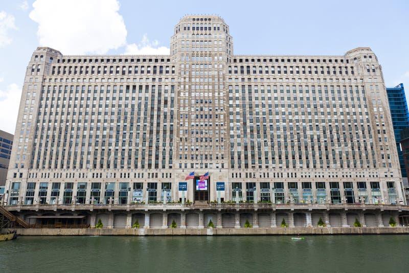 De Markt van de koopwaar in Chicago royalty-vrije stock afbeeldingen