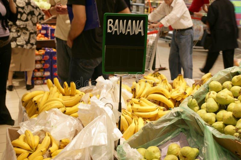De markt van de kruidenierswinkel stock foto
