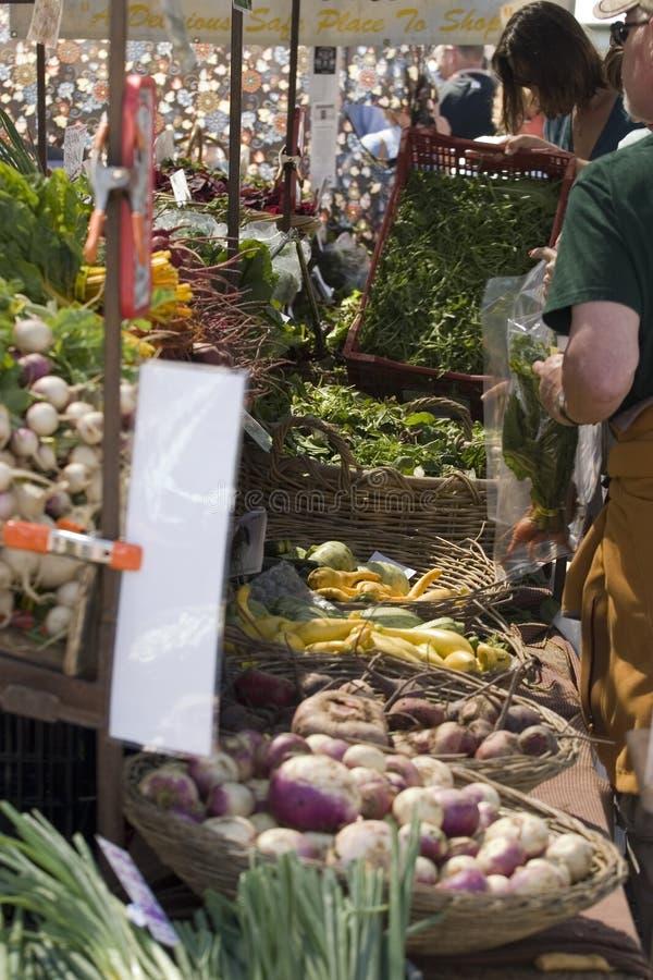 De Markt van de landbouwer royalty-vrije stock afbeelding