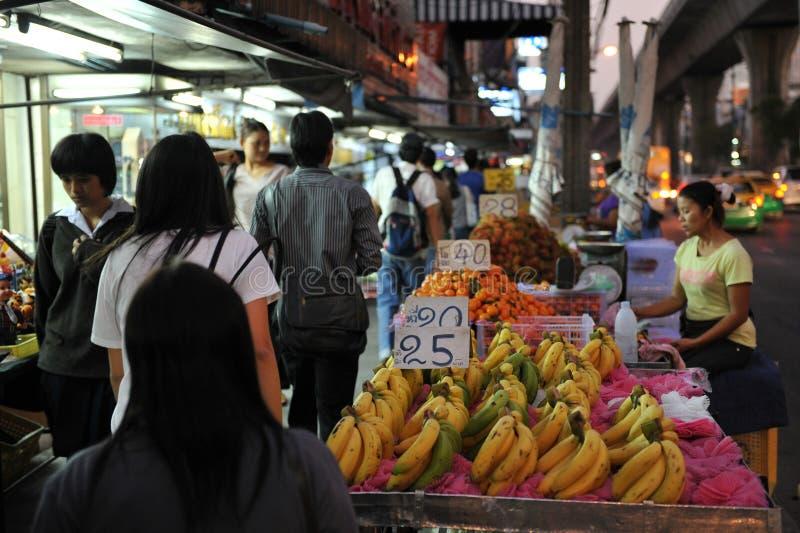De Markt van de nacht stock afbeelding