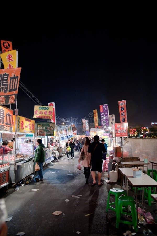 De Markt van de Nacht van de Tuin van Tainan royalty-vrije stock fotografie