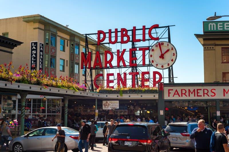 De Markt van de snoekenplaats royalty-vrije stock fotografie