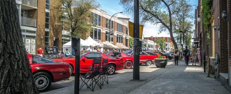 De Markt van de straat royalty-vrije stock foto's