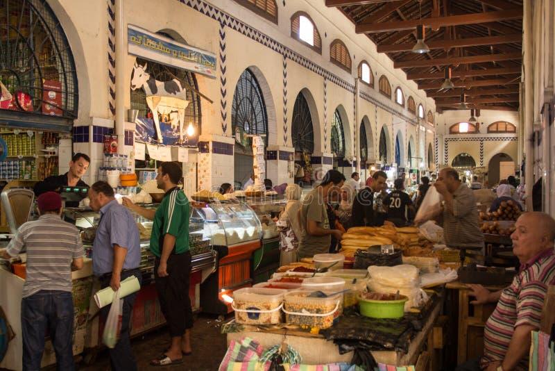 De markt van de straat in Tunis royalty-vrije stock afbeelding