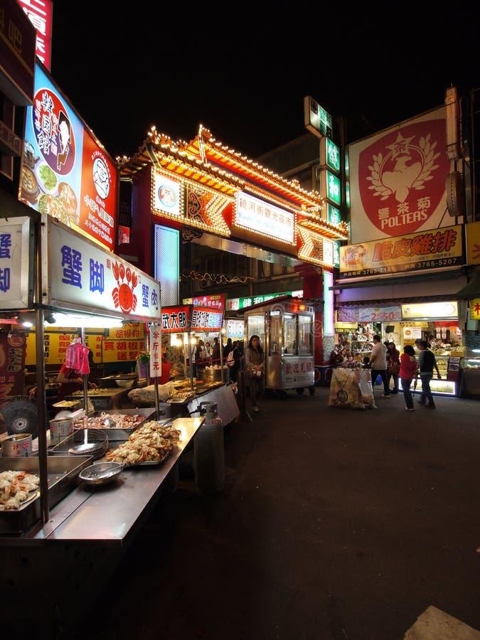 De markt van de straat van Taipeh Taiwan royalty-vrije stock fotografie
