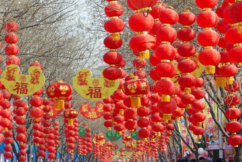 De markt van de tempel stock foto's