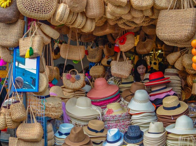 De markt van het Chatuchakjj weekend stock fotografie