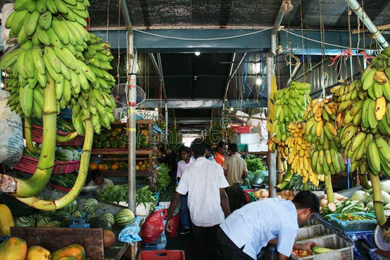 De markt van het fruit royalty-vrije stock foto