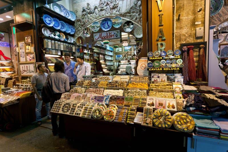 De Markt van het kruid - Istanboel royalty-vrije stock foto's