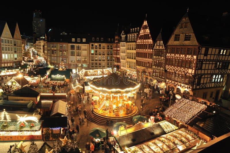 De markt van Kerstmis stock fotografie