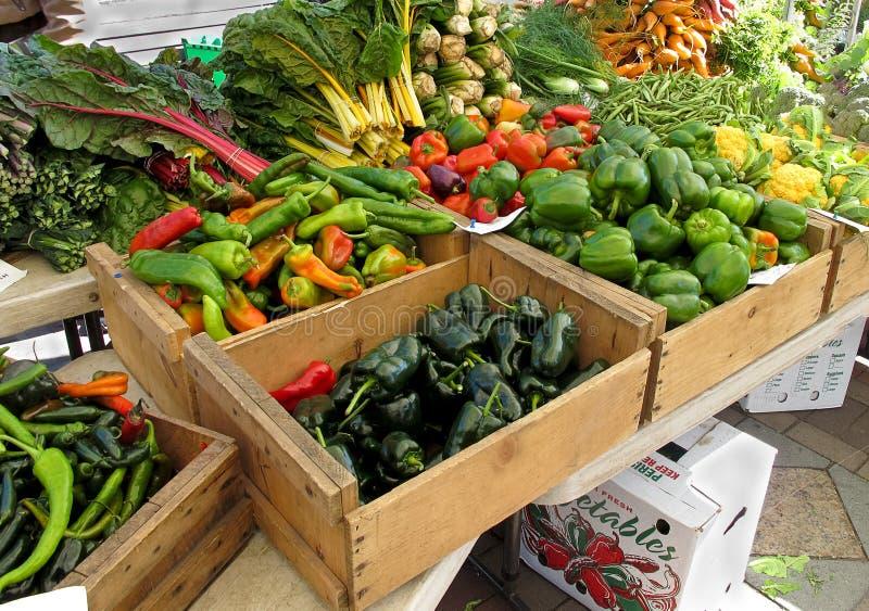 De Markt van landbouwers royalty-vrije stock afbeeldingen