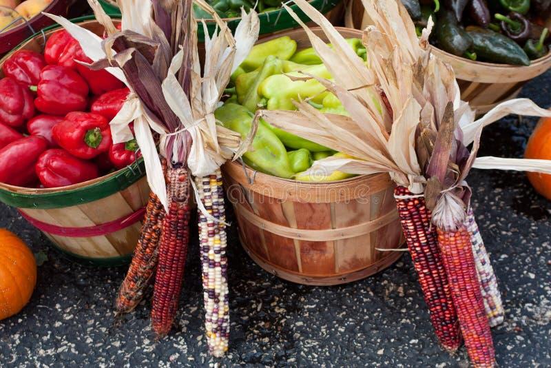 De Markt van landbouwers stock foto