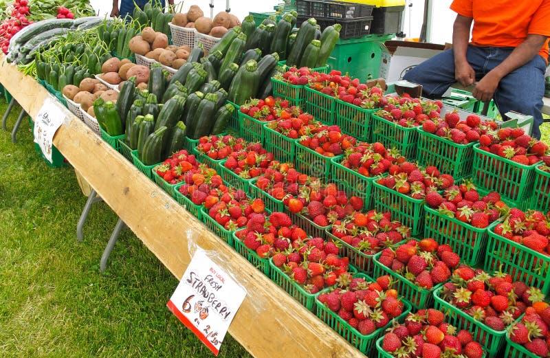 De Markt van landbouwers royalty-vrije stock foto