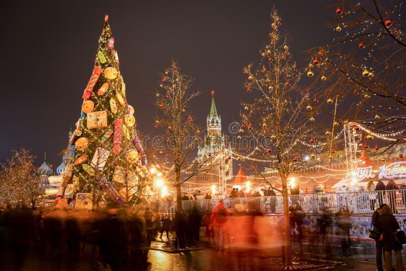 De markt van Moskou royalty-vrije stock afbeelding