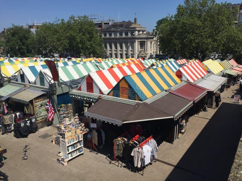De markt van Norwich royalty-vrije stock afbeeldingen