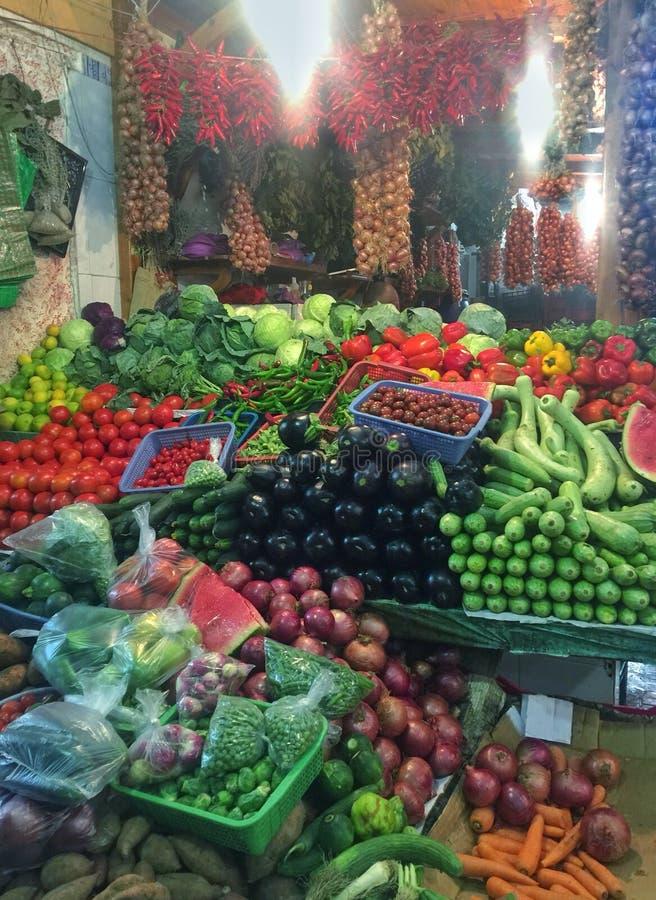 De Markt van Tanger stock foto