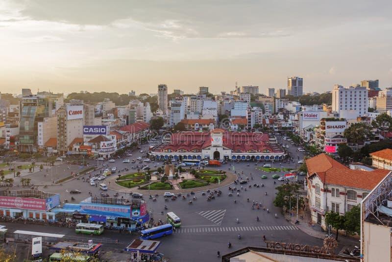 De Markt van Thanh van Ben, Ho-Chi-Minh-Stad royalty-vrije stock afbeeldingen