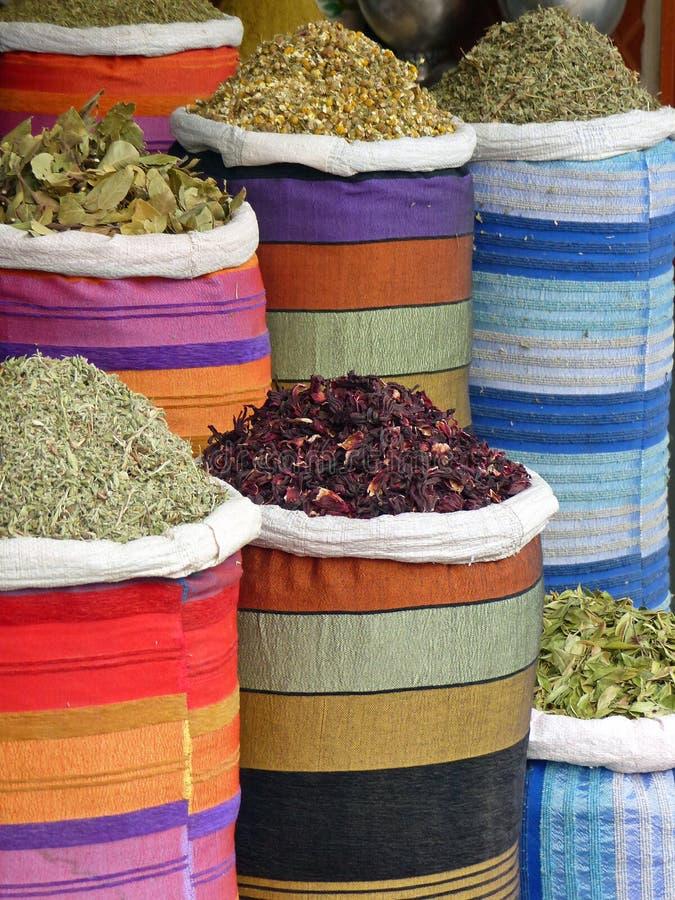 De marktkraam van Marrakech royalty-vrije stock foto's