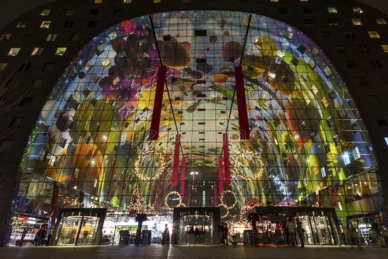 De Marktzaal van Rotterdam royalty-vrije stock afbeeldingen