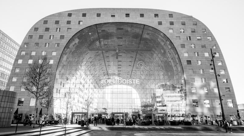 De Marktzaal van Rotterdam, het reizen van Nederland, Europa royalty-vrije stock fotografie