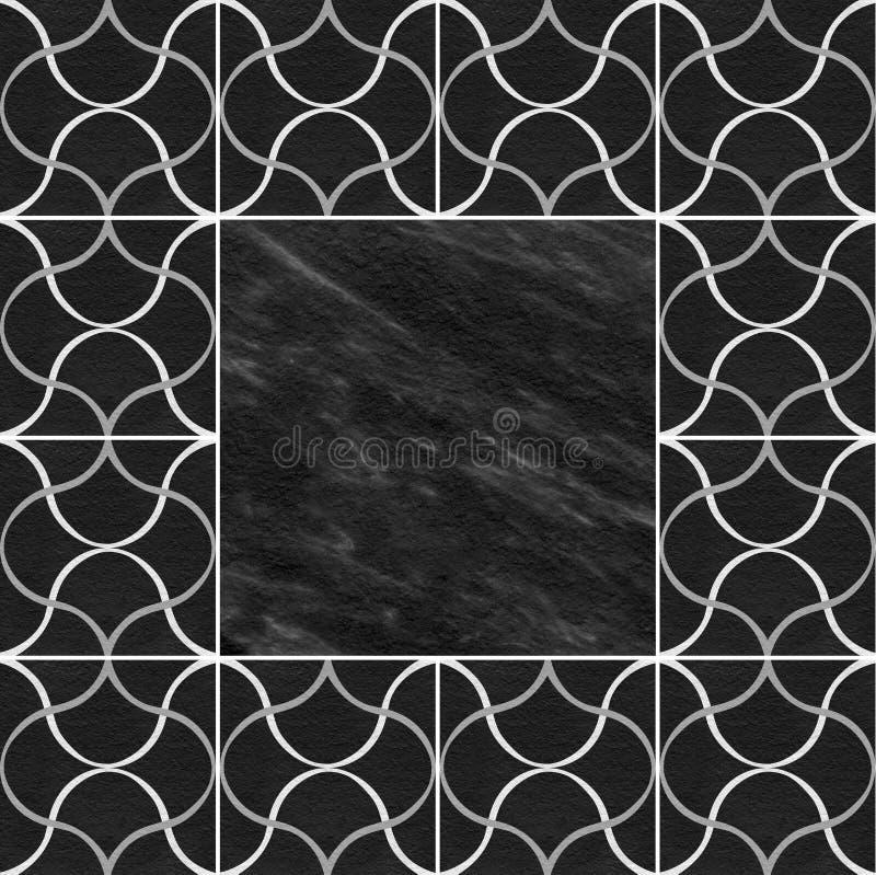 De marmeren textuur van het steenmozaïek. vector illustratie