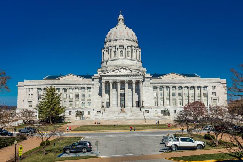 4 de marzo de 2017 - edificio del capitol de JEFFERSON CITY - de MISSOURI - del estado de Missouri en Jefferson City imágenes de archivo libres de regalías