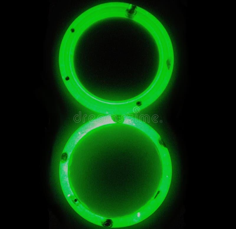 8 de marzo fósforo verde que brilla intensamente del recuerdo imagen de archivo libre de regalías