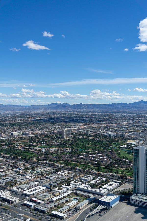 3 de marzo de 2019 - Las Vegas, Nevada - el top del restaurante del mundo - El COMIENZO fotografía de archivo