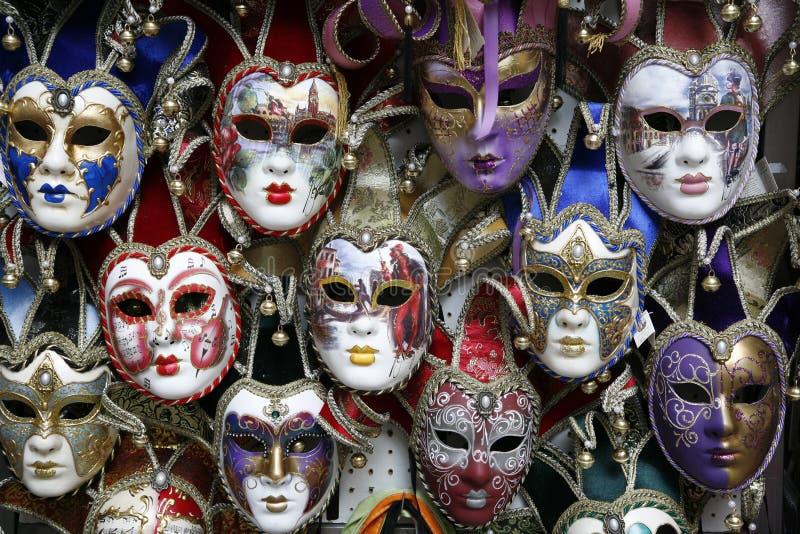 De maskers Venetië van Carnaval royalty-vrije stock afbeelding