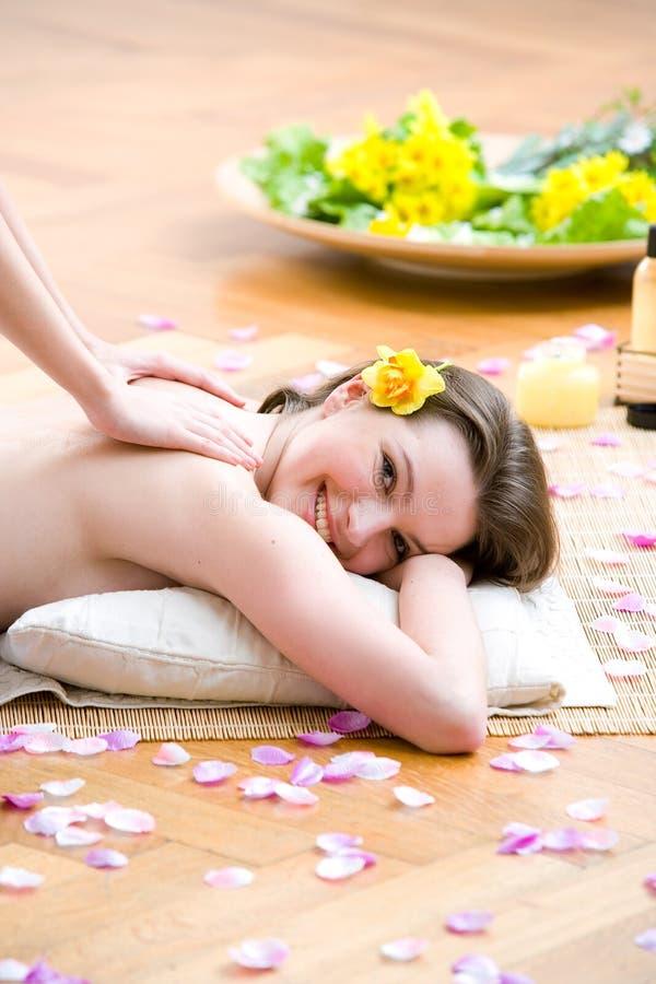 De massage van het aroma stock fotografie