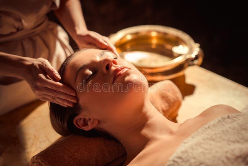 De Massage van het kuuroord royalty-vrije stock foto