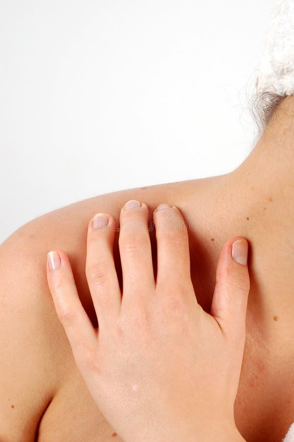 De massage van het lichaam #5 royalty-vrije stock afbeeldingen