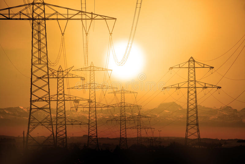 De mast van de macht stock illustratie