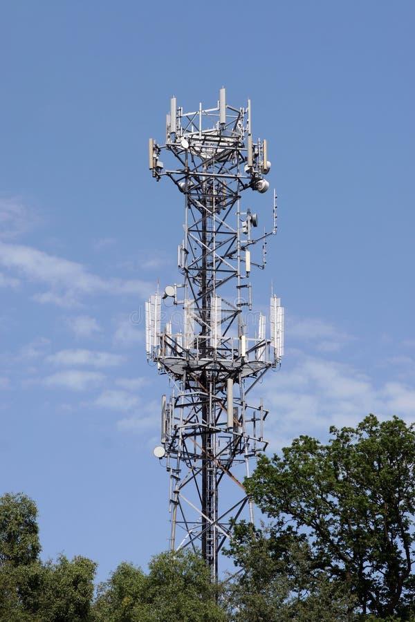 De Mast van de Telefoon van de cel royalty-vrije stock afbeelding