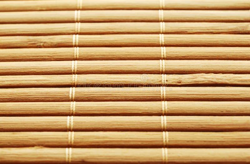 Download De mat van het bamboe stock foto. Afbeelding bestaande uit bruin - 17220024