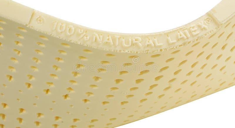 De matrasmateriaal van het latex stock afbeeldingen