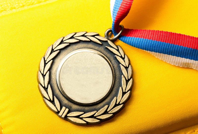 De medaille van het metaal stock fotografie