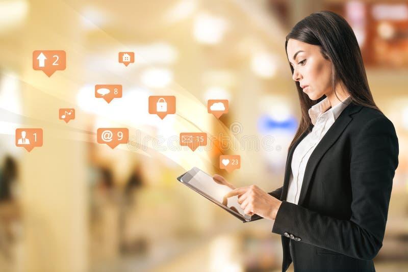De mededeling en houdt van concept royalty-vrije stock afbeeldingen