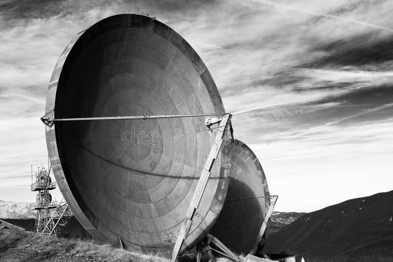 De mededeling van de antenne stock foto's