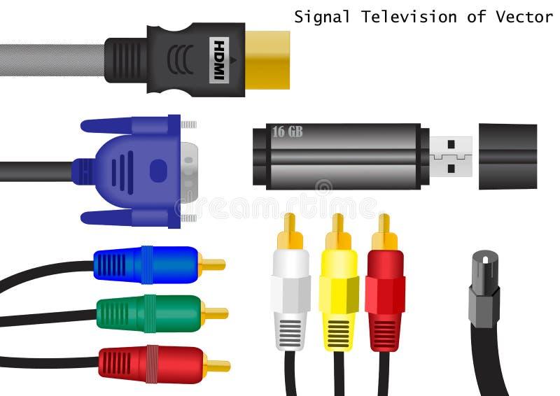De mededeling van de apparatuur vector illustratie