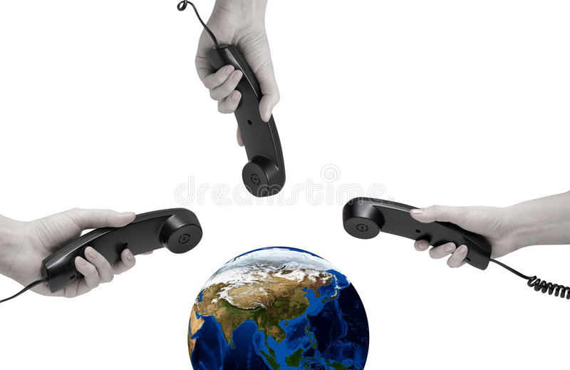 De Mededeling van de wereld royalty-vrije stock afbeelding
